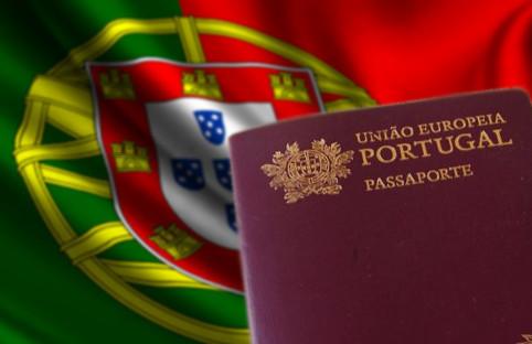 bandeira e passaporte